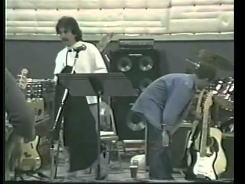 Bobfest rehearsals for Bob Dylan 30th 1992 Eric Clapton George Harrison Neil Young Tom Petty