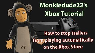 How to stop trailers from playing automatically on the Xbox Store