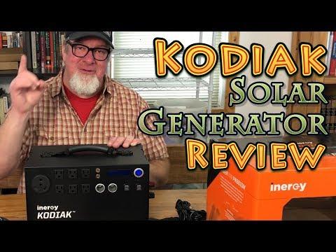 Kodiak Solar Generator by Inergy REVIEW