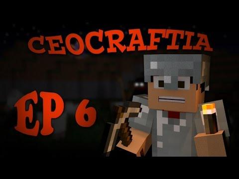 MCPE♠CREEPER EXPLOSION♠CEOCRAFTIA EP 6