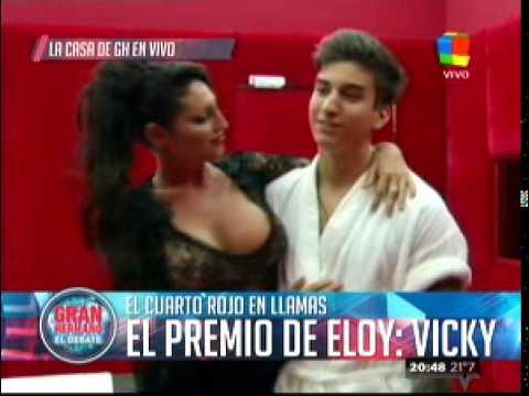 Eloy conoció a Vicky Xipolitakis y se hicieron masajes hot