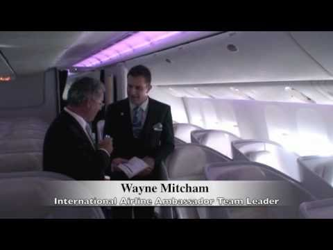 House Of Travel Stephen Parsons- AIR NZ Boeing 777-300 PREMIUM ECONOMY