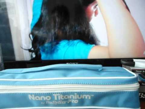 Plancha Babyliss Nano Titanium 2 años Garantia Despachos a todo el pais.AVI