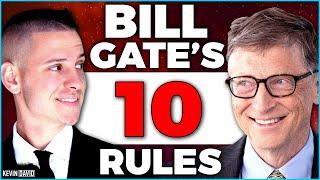 Bill Gates's Top 10 Rules For Success (@BillGates)