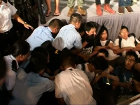 Raw: More Than 500 Arrested in Hong Kong Protest