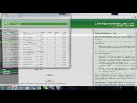 Configuración TL-WA5210G  | Modo Cliente