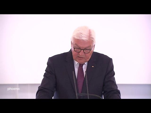 BundesprГsident Frank-Walter Steinmeier zum Mauerbau vor 58 Jahren vom 13.08.19