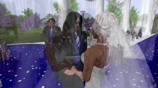 Danny & Moon Second Life Wedding - 7.24.16