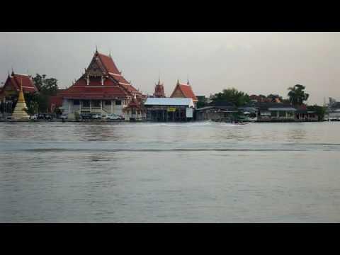 Schleppzug auf dem ChaoPhraya River