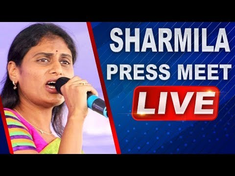 YS Sharmila LIVE | Responds On Prabhas Issue and Warns TDP and Janasena Activists | ABN LIVE