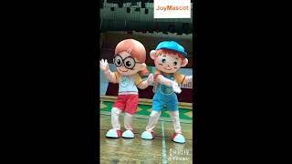 Boy & Girl Cartoon Mascot Costumes for Adult