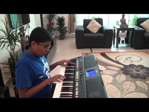 Jay on Keyboard - Kehne Ko Jashne Bahara Hai (Film - Jodha Akbar...