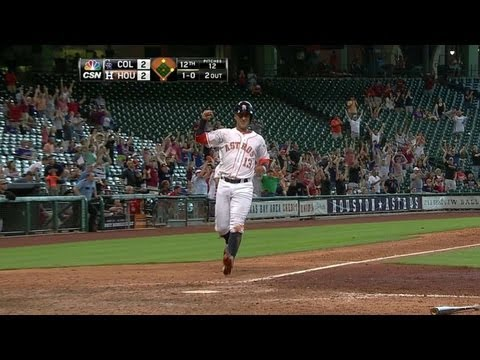 COL@HOU: Barnes' walk-off double wins it in the 12th