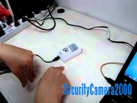 Video Manual of Mini PIR Infrared DVR Recorder Alarm Camera With Human Sensor from SC2000.com