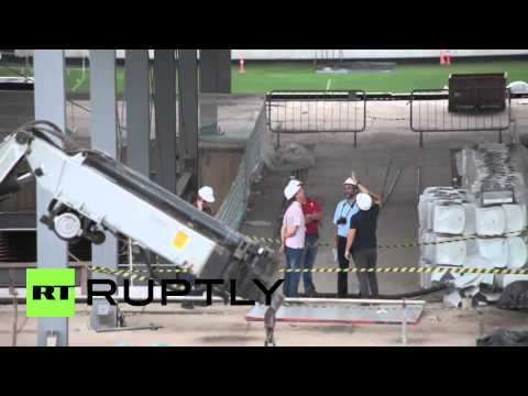 Brazil: Worker falls to his death from World Cup stadium