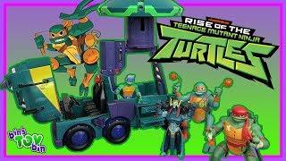 TMNT Rise of the Ninja Turtles TOYS by Playmates!