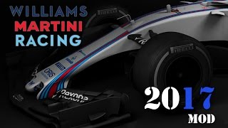 F1 2017 Mod for F1 2015 Williams Martini Racing (with Download link)