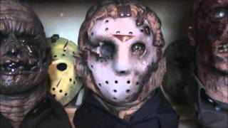 jason voorhees part 9 friday the 13 Goes to hell with 3 mask