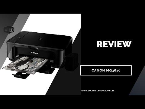 Review Impresora Canon PIXMA MG3610 en español