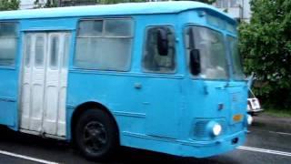 ЛиАЗ-677(ул.Строителей)г.Кириши