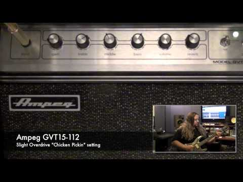 Ampeg GVT Series Guitar Amps - Tone Sample - Chicken Pickin