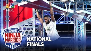 JJ Woods at the Las Vegas National Finals: Stage 2 - American Ninja Warrior 2017