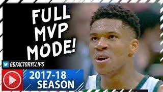 Giannis Antetokounmpo INSANE Full Highlights vs Trail Blazers (2017.10.21) - 44 Pts, GAME-WINNER!