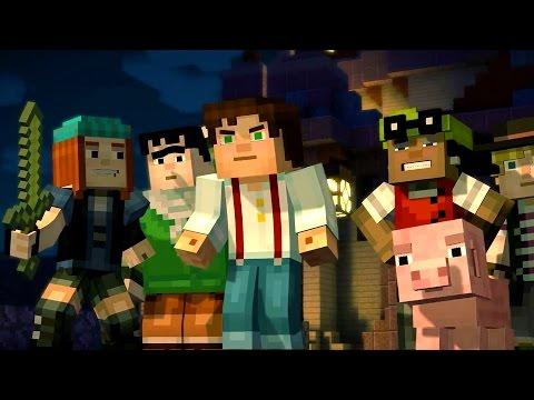 Minecraft: Story Mode - Minecon 2015 Trailer