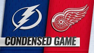 12/04/18 Condensed Game: Lightning  @ Red Wings  from NHL