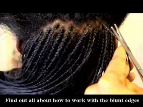 100% Human hair Micro Braids - A trailer (RE-Edit)