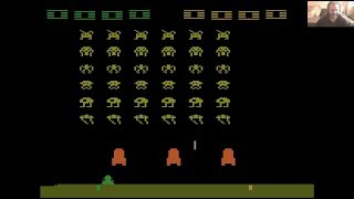 Lukozer Retro Game Review - 537 - Space Invaders - Atari 2600 (VCS)