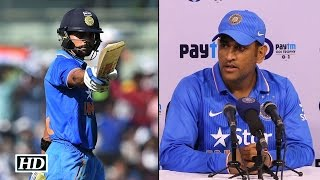 IND v SA 4th ODI: Dhoni REACTS on Virat's 138 & beating SA