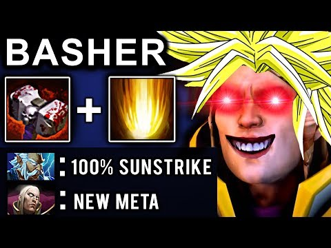 BASHER INVOKER DOTA 2 PATCH 7.07 NEW META PRO GAMEPLAY