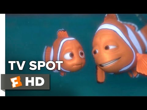 Finding Dory TV SPOT - She's Almost Here (2016) - Ellen DeGeneres, Albert Brooks Movie HD