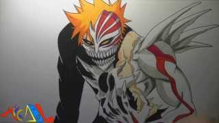 Dibujando a: Ichigo (Hollow)