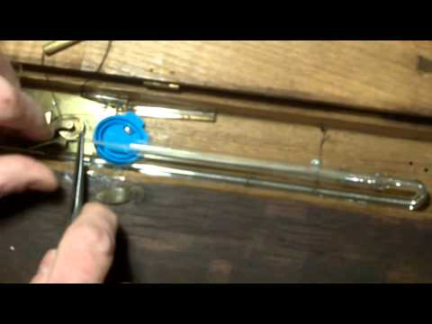 Barometer...A quick look at how I removed airlocks from the mercury column