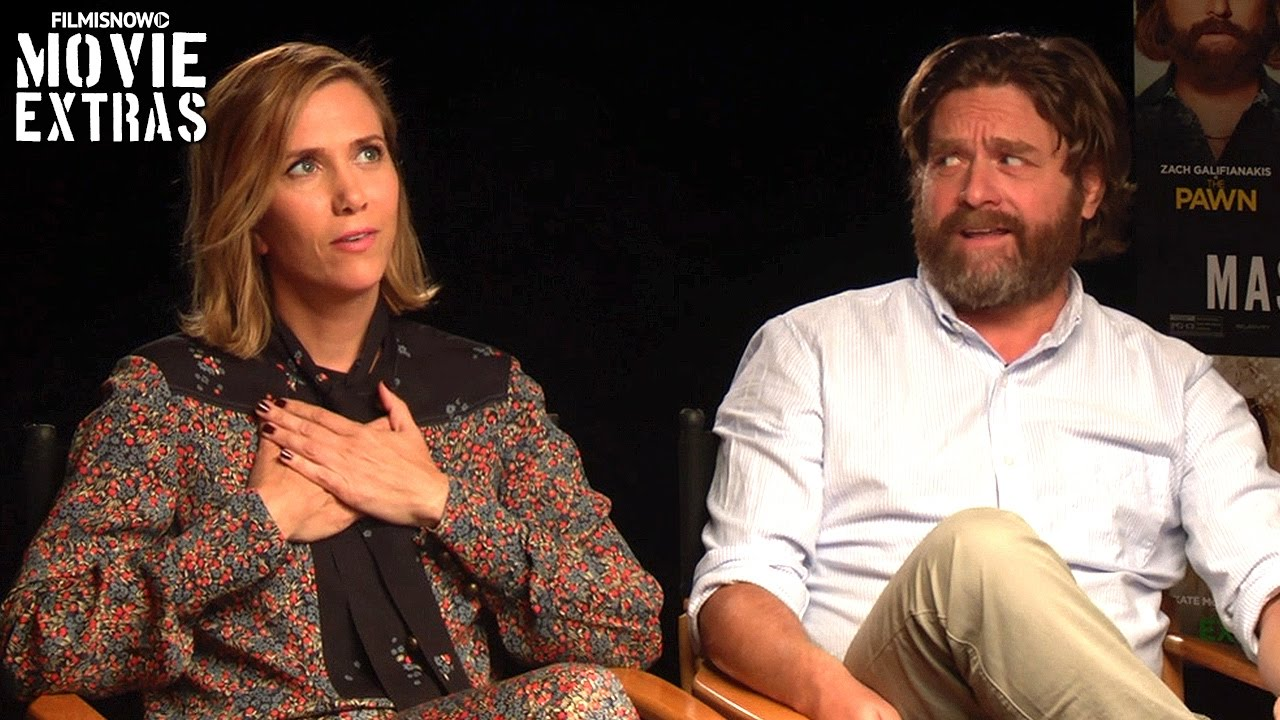 Masterminds (2016) - Kristen Wiig & Zach Galifianakis talk about their experience making the movie