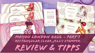 MOYOU LONDON HAUL-Pt 1-✨ NEW✨ RECTANGULAR CLEAR JELLY-REVIEW&TIPS