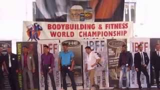 World Championship 2014 Ibff Slovenia-Koper  MR FITNESS MODEL category