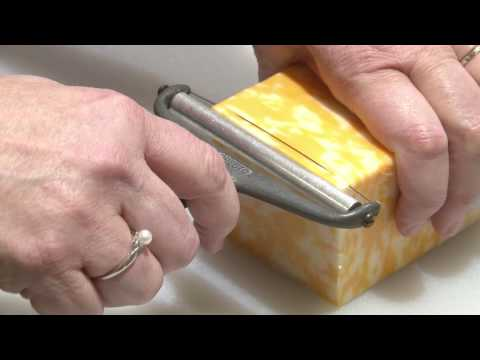 How To Use A Wire Cheese Slicer