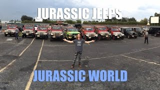 JURASSIC PARK JEEPS in JURASSIC WORLD