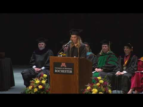"University of Minnesota Rochester (UMR)  ""2013 Graduation Ceremony"""