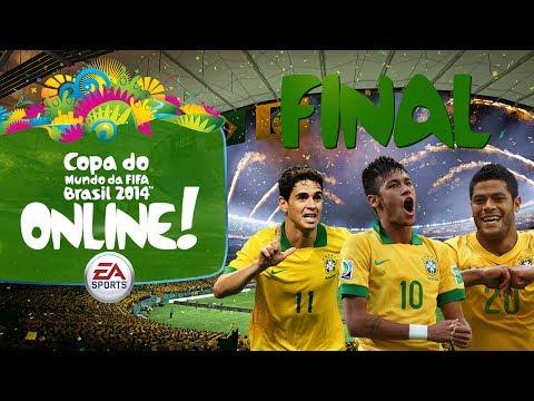 Copa do Mundo Online! - FINAL - Brasil x Argentina - 2014 Fifa World Cup Brazil