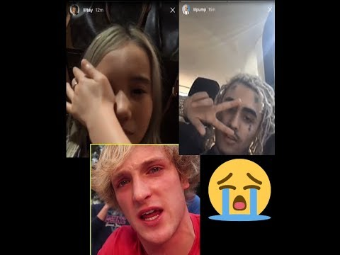 LOGAN PAUL REACTION TO X's DEATH.. MCDONALD TWEET GOT SUSPENDED (lilpump and liltay's reaction)