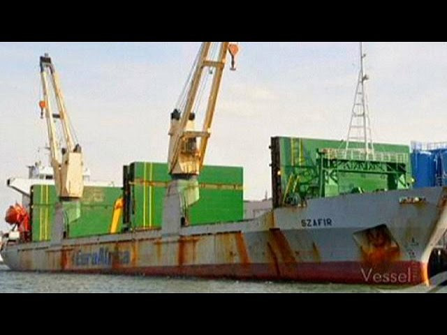 Cinco marinos mercantes polacos secuestrados en Nigeria