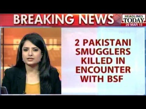 Smuggling Heroin: 2 Pakistani Smugglers Shot Down Near Wagah