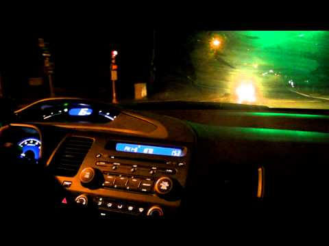 2010 Honda Civic Test Drive - Blue Hills Night