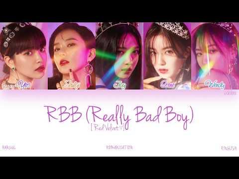 [HAN|ROM|ENG] Red Velvet (레드벨벳) - RBB (Really Bad Boy) (Color Coded Lyrics)