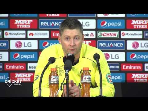 Clarke praises Watson, bowlers