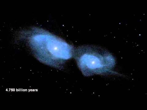 NASA's Hubble Shows Milky Way is Destined for Head-on Collision with Andromeda Galaxy.wmv